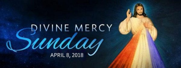 Divine Mercy Sunday 2018