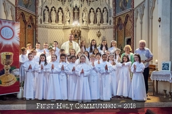 First Holy Communion 2018 Children Photo