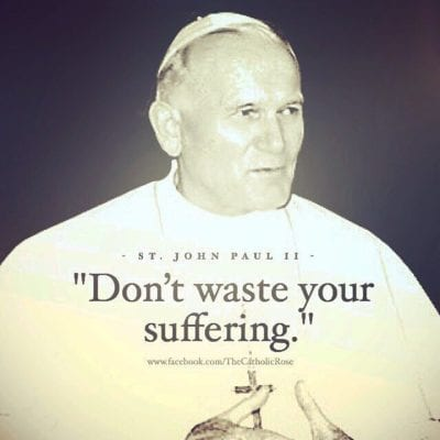 John Paul II and Suffering