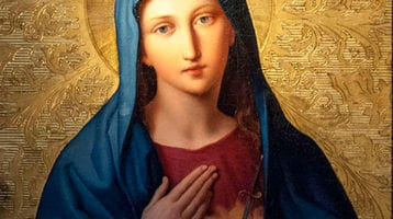 The month of August is dedicated to The Immaculate Heart of Mary