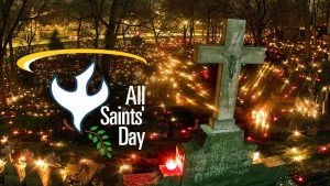 Dress as you favorite Saint !!! - Message for our Children -Sunday 1st November is all Saints Day